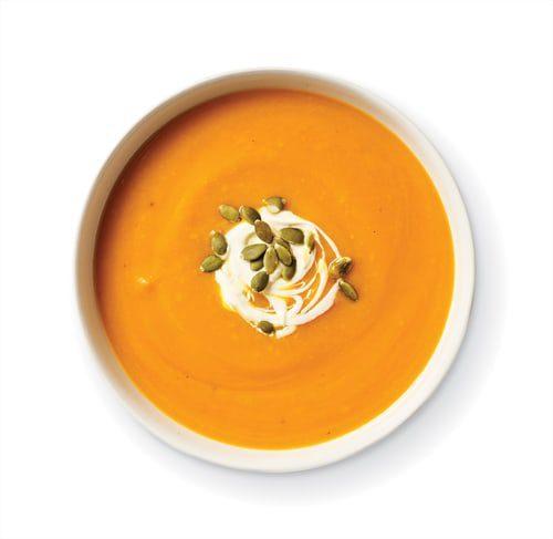 Pumpkin & Ginger Soup